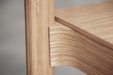Drewniane krzesło sztaplowane Tune 9 Bolia
