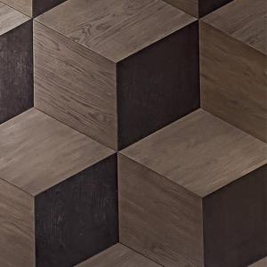 Drewniany parkiet romby Cube.jpg