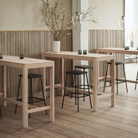 Drewniany stół barowy Node 1 Bolia