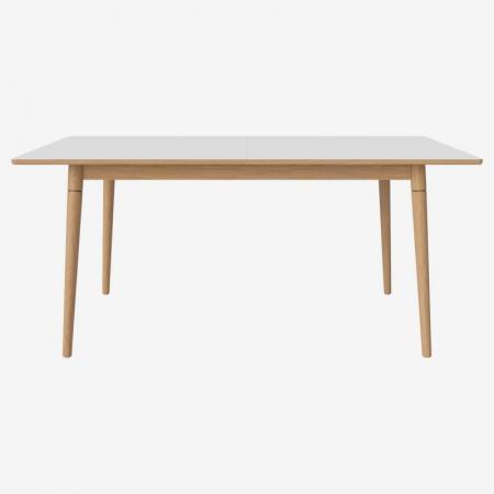 Drewniany stół z barwionym blatem New Coney Bolia