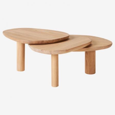 Drewniany stolik kawowy Latch Bolia