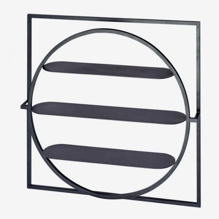 Geometryczna półka ścienna In Square Bolia