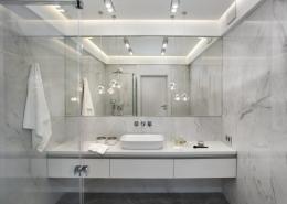 Jasna łazienka w marmurze
