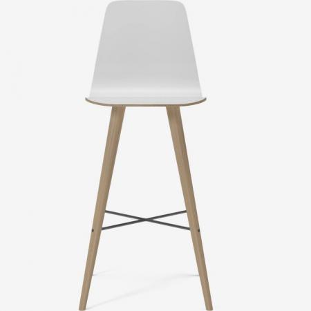 Krzesło barowe z oparciem Beaver 1 Bolia