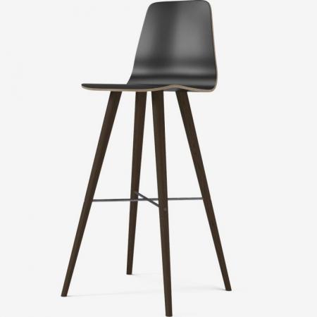 Krzesło barowe z oparciem Beaver Bolia