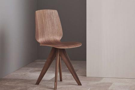 Krzesło ze sklejki New Mood 1 Bolia