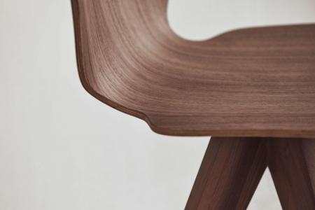 Krzesło ze sklejki New Mood 20 Bolia
