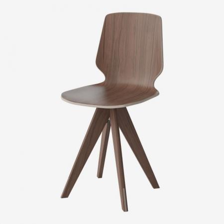 Krzesło ze sklejki New Mood 3 Bolia