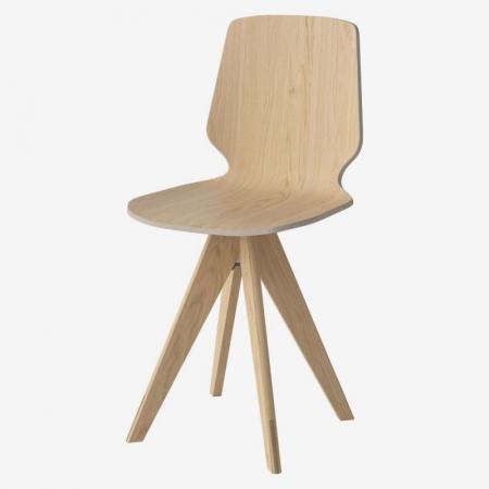 Krzesło ze sklejki New Mood 7 Bolia