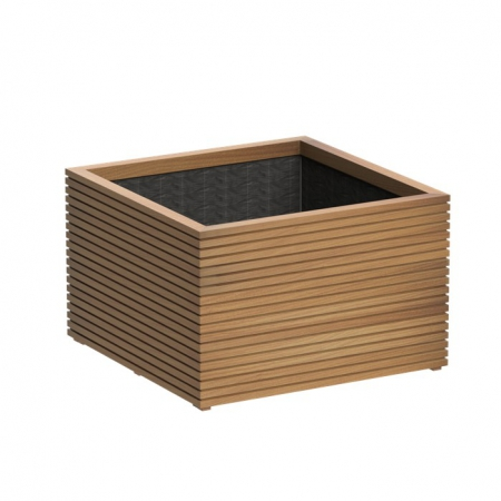 Kwadratowa donica drewniana zewnętrzna Improved Oak.jpg