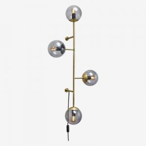 Lampa ścienna z czterema punktami świetlnymi Orb Bolia