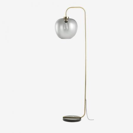 Lampa podłogowa ze szklanym kloszem Grape Bolia