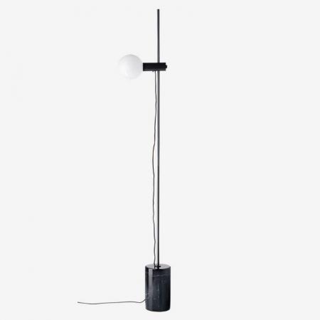 Minimalistyczna lampa podłogowa Revolve Bolia