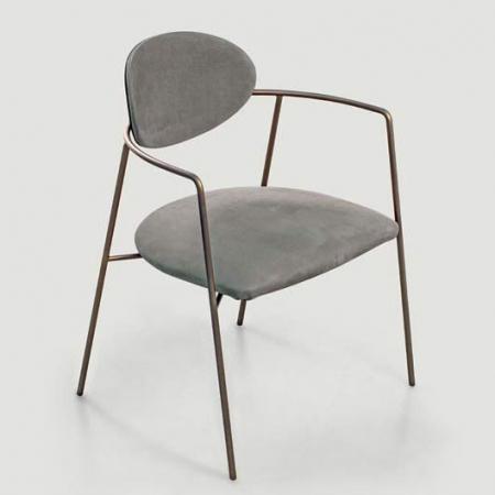 Minimalistyczne krzesło tapicerowane Eden.jpg