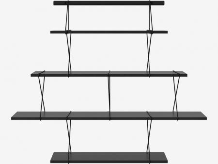 Modułowy system półek X-Shelf 11 Bolia