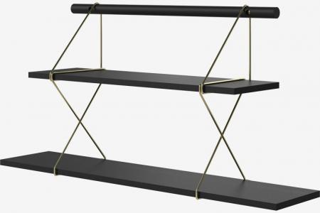 Modułowy system półek X-Shelf 5 Bolia