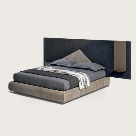 Nowoczesne łóżko z szerokim wezgłowiem Ego.jpg