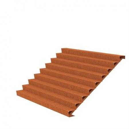 Ogrodowe schody zewnętrzne stal kortenowa 4.jpg