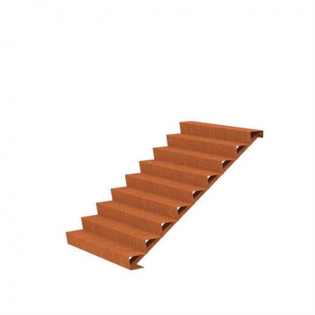 Ogrodowe schody zewnętrzne stal kortenowa 5.jpg