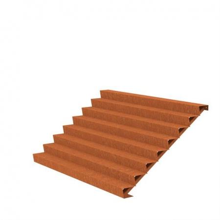 Ogrodowe schody zewnętrzne stal kortenowa 7.jpg