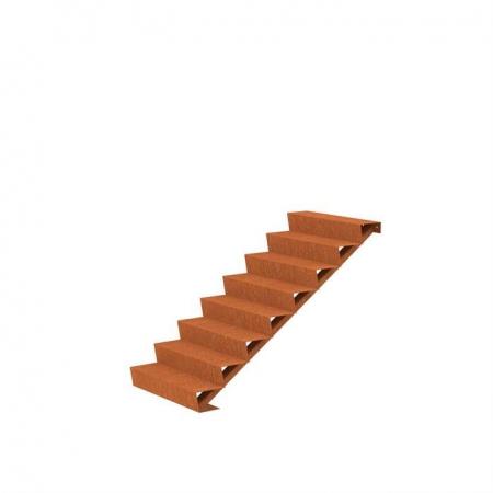 Ogrodowe schody zewnętrzne stal kortenowa 9.jpg