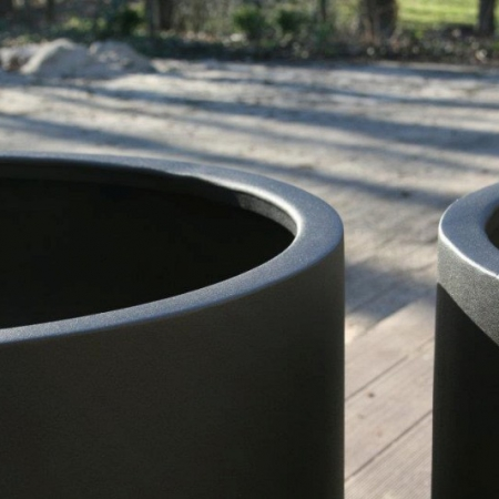 Okrągła donica zewnętrzna Aluminium Ellipse 1.jpg