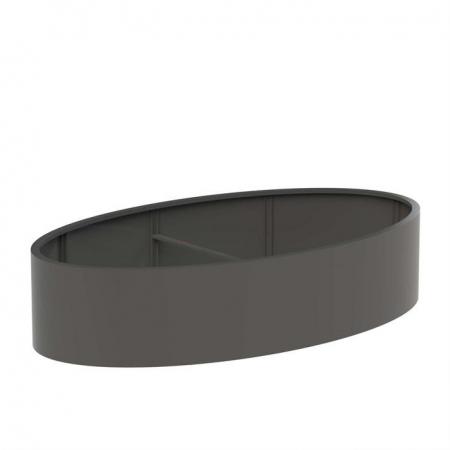 Okrągła donica zewnętrzna Aluminium Ellipse.jpg