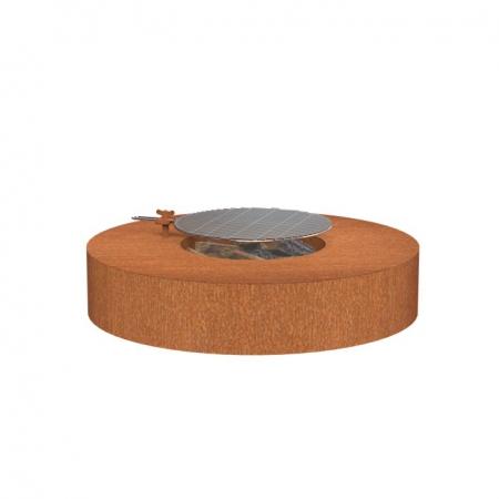 Okrągłe palenisko zewnętrzne stal kortenowa 2.jpg