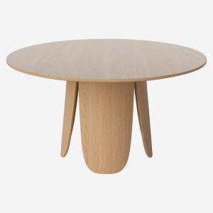 Okrągły stół z drewna Peyote Bolia
