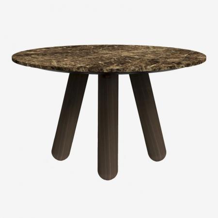 Okrągły stół z marmurowym blatem Balance 2 Bolia