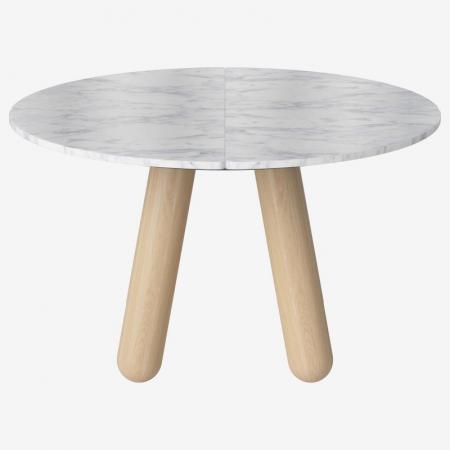 Okrągły stół z marmurowym blatem Balance 3 Bolia