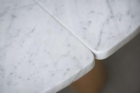 Okrągły stół z marmurowym blatem Balance 5 Bolia