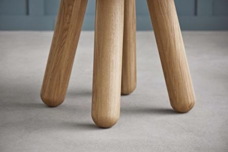 Okrągły stół z marmurowym blatem Balance 6 Bolia