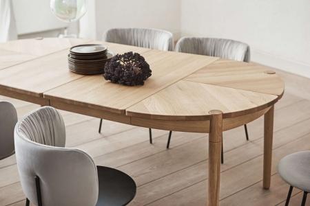 Okrągły stół z rozkładanym blatem Fusion 1 Bolia