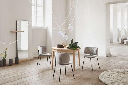 Okrągły stół z rozkładanym blatem Fusion 7 Bolia