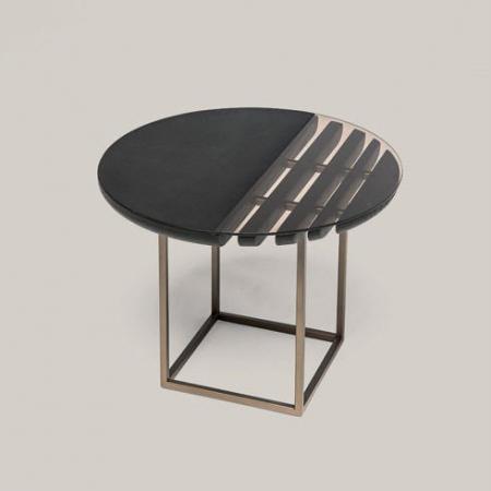 Okrągły stolik kawowy dekoracyjny Tal.jpg
