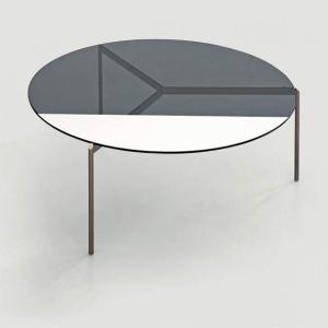 Okrągły stolik kawowy ze szklanym blatem Lily.jpg