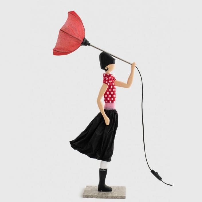 Oryginalna dziecznka z parasolem MINNIE