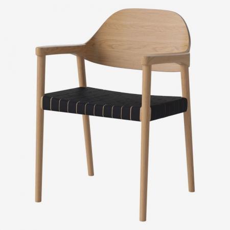 Oryginalne krzesło z drewna Mebla Bolia