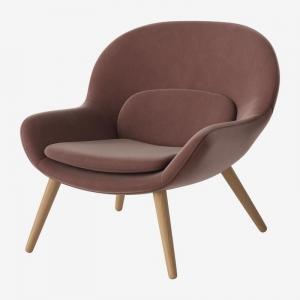 Owalny fotel tapicerowany Philippa Bolia