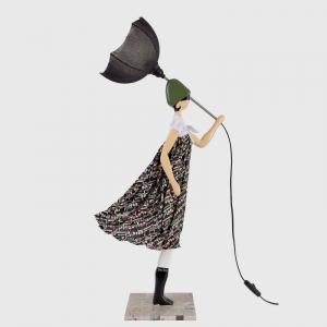 Ozdobna lampka dziewzynka w sukience COLETTE