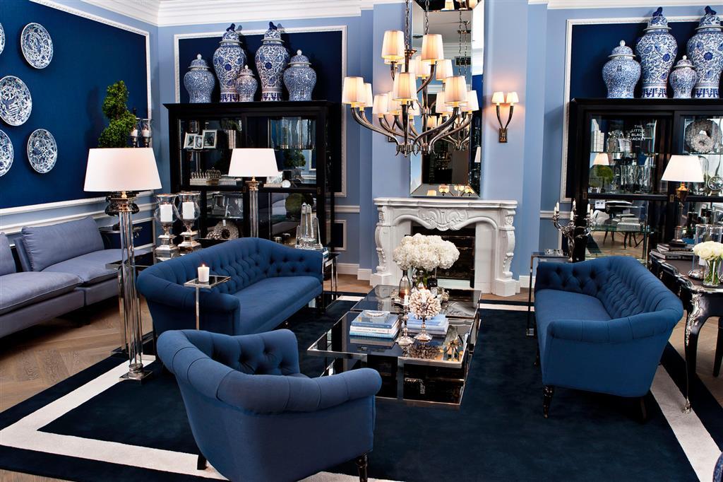 Pantone 2020 Classic Blue fotel