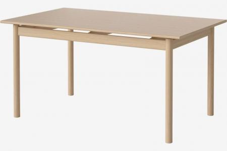 Prostokątny stół w kolorze drewna lub czerni Loyal 1 Bolia