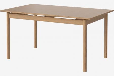 Prostokątny stół w kolorze drewna lub czerni Loyal 2 Bolia