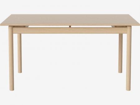 Prostokątny stół w kolorze drewna lub czerni Loyal 3 Bolia