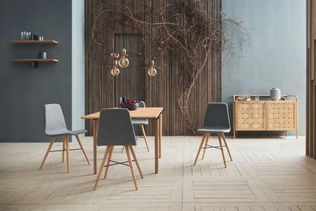 Prostokątny stół w skandynawskim stylu DoubleUp 1 Bolia