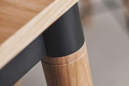 Prostokątny stół w skandynawskim stylu DoubleUp 6 Bolia