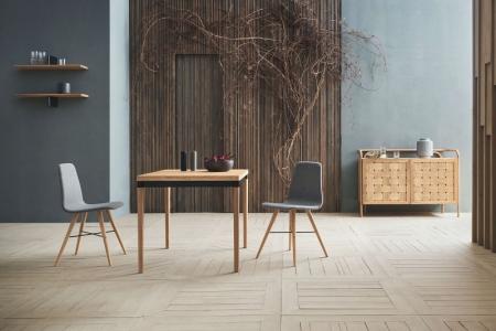 Prostokątny stół w skandynawskim stylu DoubleUp 8 Bolia