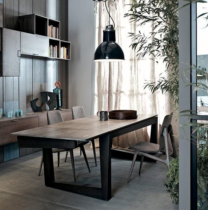 Prostokątny stół z asymetrycznymi nogami Twist.jpg