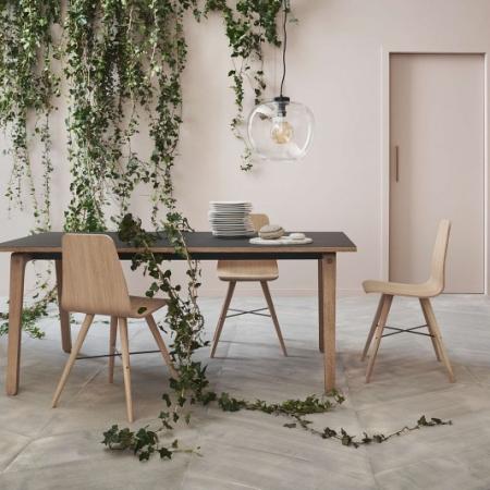 Prostokątny stół z drewna Filur 1 Bolia